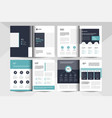 8 pages multipurpose brochure design layout