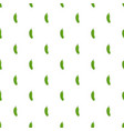 cucumber pattern seamless vector image vector image