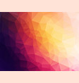 dark abstract low poly background vector image vector image