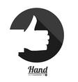 hands gesture vector image vector image