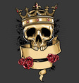 King of skull vector | Price: 3 Credits (USD $3)
