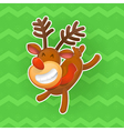 Christmas design elements Jolly deer the symbol of vector image