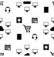 business creative icon collection seamless vector image