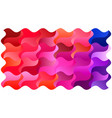 colorful bright trendy backdrop design with waves vector image