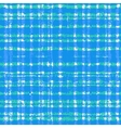 Plaid pattern with crossing watercolor lines vector image vector image