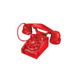 Telephone Vintage Drawing vector image