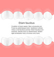 human teeth in mouth infographics dental care vector image