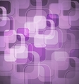 Abstract purple background with round rectangle vector image vector image