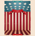 fourth july - american background vector image vector image