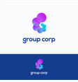 group corp vector image