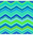 hand drawn zigzag pattern in aqua blue
