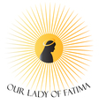 Our Lady of Fatima vector image vector image