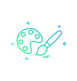 painting icon design vector image