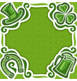 poster for st patricks day vector image vector image