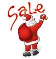 Santa Claus sale vector image vector image
