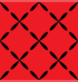 seamless abstract vintage red pattern vector image