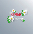 spring background 3 vector image vector image