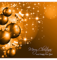 Christmas Background for Greetings vector image