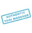Authentic Thai Massage Rubber Stamp