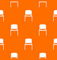 black office chair pattern seamless vector image vector image