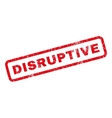 Disruptive Rubber Stamp vector image vector image