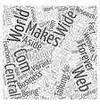 Entrepreneur com Word Cloud Concept