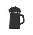 icon of beer mug or beer glass vector image vector image