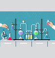 medical laboratory desktop vector image