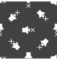 Muted loudspeaker pattern vector image vector image