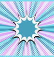 comic page colorful background vector image vector image
