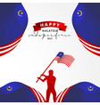 malaysia independence day design for celebrate vector image vector image