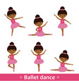 set african dancers vector image vector image