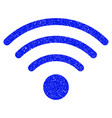 wi-fi source grunge icon vector image vector image