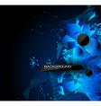 Abstract modern poligonal background for brochure vector image