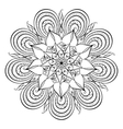 Coloring book for adults vector image vector image