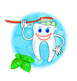 dental hygiene icon vector image