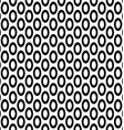 Seamless monochrome ellipse pattern background vector image vector image