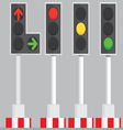 Traffic Signal Lights vector image