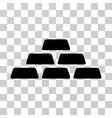 treasure bricks icon vector image