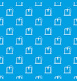 3d printer frame pattern seamless blue vector image vector image
