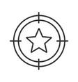 aim on star linear icon