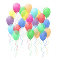 balloons 02 vector image vector image