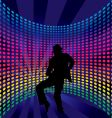 nightclub dancer vector image vector image