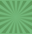 retro rays comic green background raster gradient vector image vector image