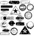 Rubber stamps vector | Price: 1 Credit (USD $1)