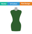 tailor mannequin icon vector image vector image