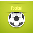 Football sticker vector image