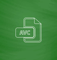 AVC computer symbol vector image