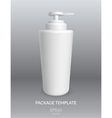 Blank Cosmetic Container vector image