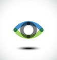 Eye Logo design vector image
